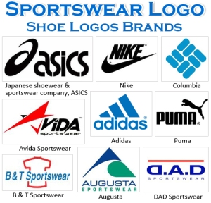 Most Famous Shoe Logos of Sport Brands