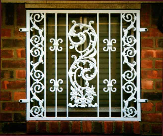 Simple window grills joy studio design gallery best design for Window grill design kerala